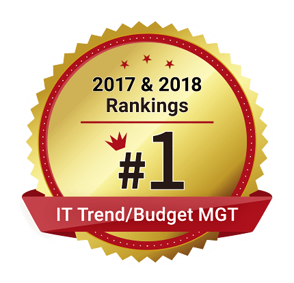 IT Trend⁄Budget MGT 2017 & 2018 Rankings #1